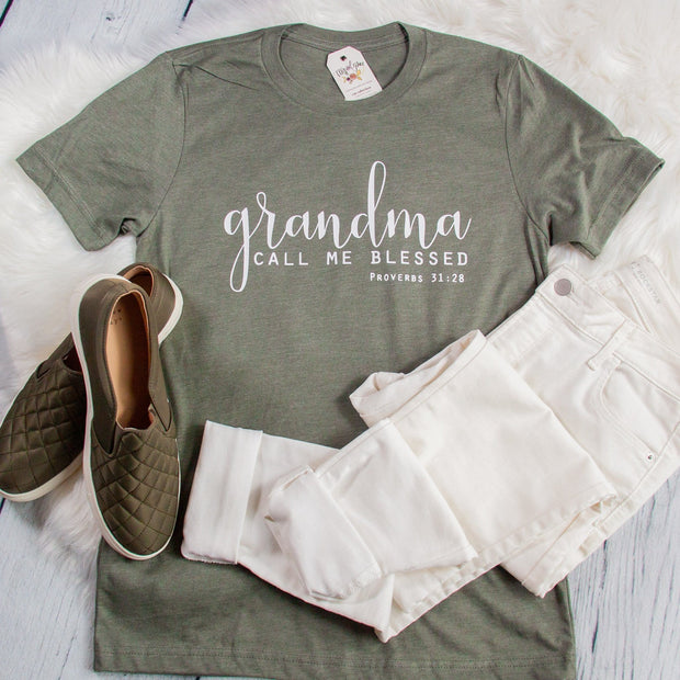 Grandma: Call Me Blessed Unisex Shirt
