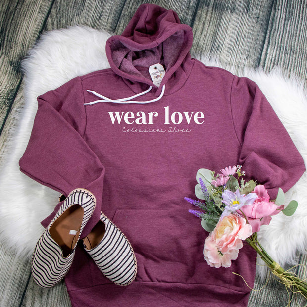 Wear Love Premium Fleece Hoodie