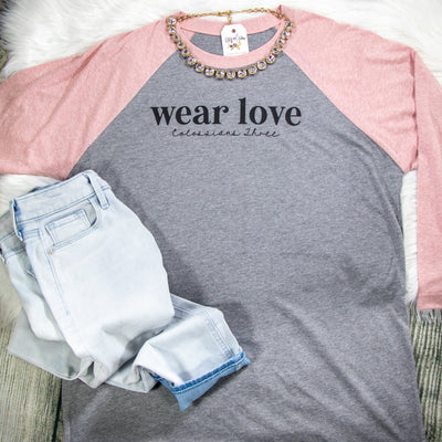 Wear Love Raglan