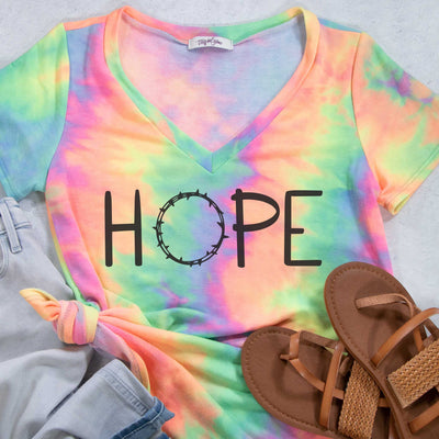 HOPE Terry Tie Dye V-Neck