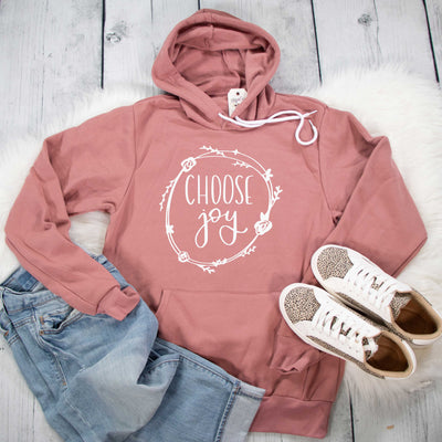 Choose Joy Premium Fleece Hoodie