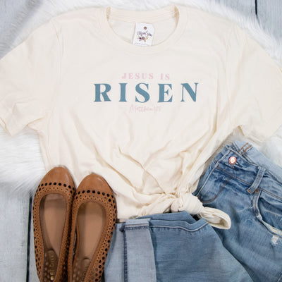 Jesus is Risen Unisex Shirt