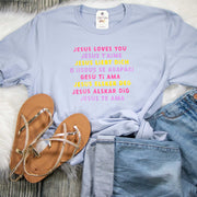 Languages Jesus Loves You Unisex Shirt