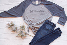 Don't Throw Stones Baseball Tee - Christian shirt for women