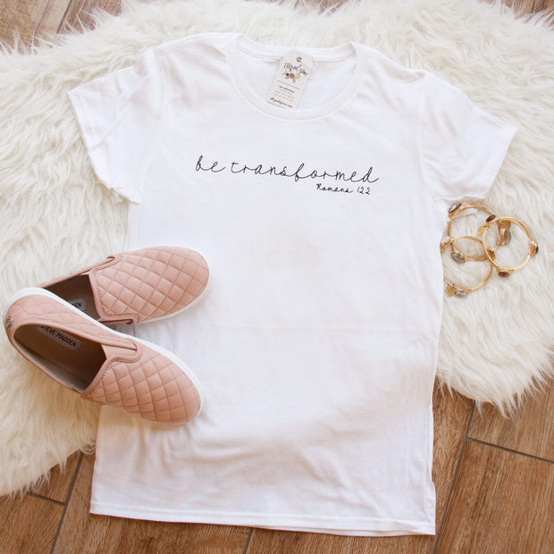 Be Transformed Short Sleeve Shirt-ellyandgrace