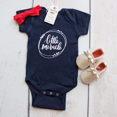 Little Miracle Infant Bodysuit-ellyandgrace