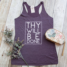 Thy Will Be Done Tank Top - Christian shirt for women