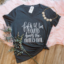 Fights Til I'm Found Leaves the Ninety Nine Relaxed Ladies Vneck-ellyandgrace