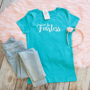 Be Fearless Girls Shirt-ellyandgrace