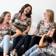 Create Your Own Camo Premium Ladies V-Neck
