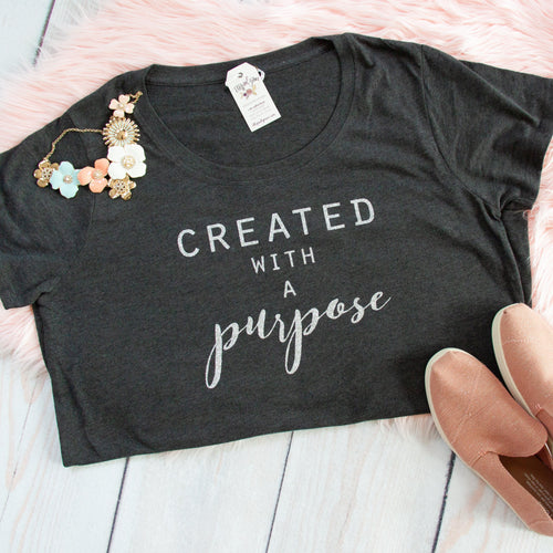 Created with a Purpose Curvy Tee-ellyandgrace