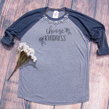 Choose Kindness Baseball Tee-ellyandgrace