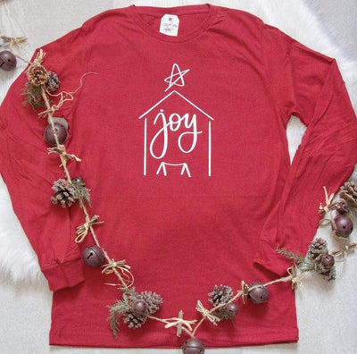 Joy Nativity Crew Longsleeve
