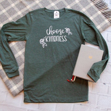Choose Kindness Crew Longsleeve-ellyandgrace