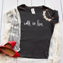 Walk in Love Curvy Tee-ellyandgrace