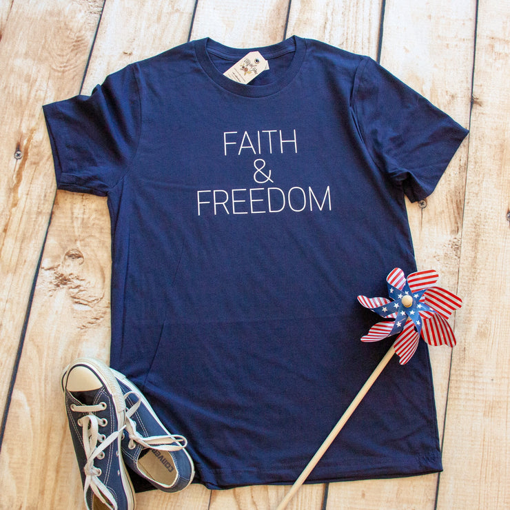 Faith & Freedom Unisex Shirt