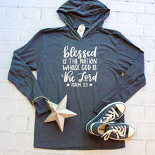 Blessed is the Nation Whose God is the Lord T-Shirt Hoodie