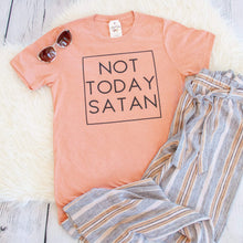 Not Today Satan Unisex Shirt