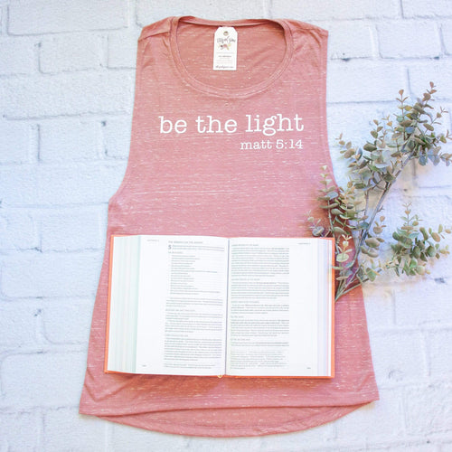 Be The Light Muscle Tank