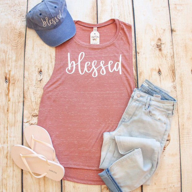 Blessed Modern Ladies Muscle Tank