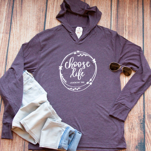 Choose Life T-Shirt Hoodie-ellyandgrace
