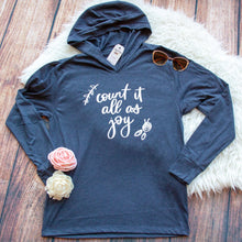 Count it All as Joy T-Shirt Hoodie-ellyandgrace