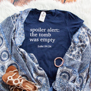 Spoiler Alert: The Tomb was Empty Short Sleeve Shirt-ellyandgrace