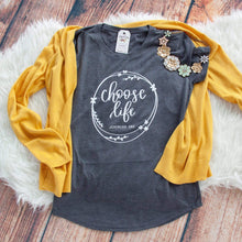 Choose Life Short Sleeve Shirt-ellyandgrace
