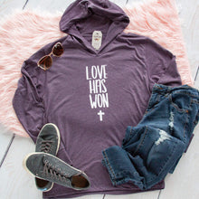 Love Has Won T-Shirt Hoodie-ellyandgrace
