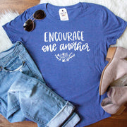 Encourage One Another Triblend Short Sleeve Shirt