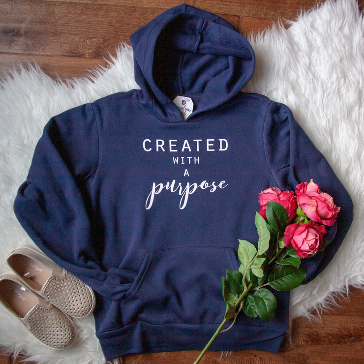 Created with a Purpose Premium Kids Hoodie