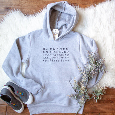 Reckless Love Premium Kids Hoodie