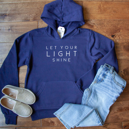 Let Your Light Shine Premium Kids Hoodie