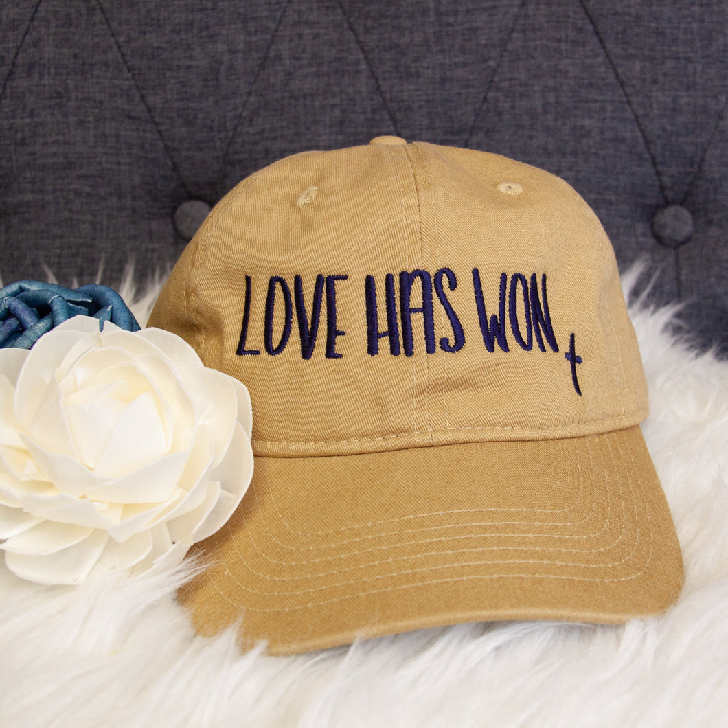 Love Has Won Hat-ellyandgrace