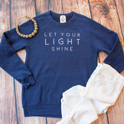 Let Your Light Shine Premium Fleece Pullover