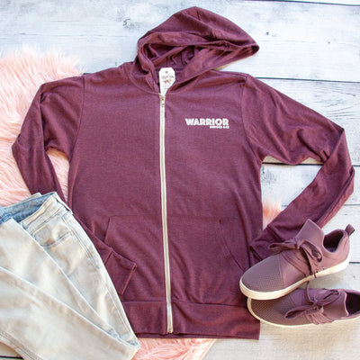 Warrior Lightweight Zip up Hoodie