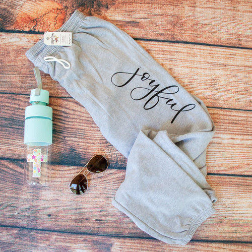 Joyful Premium Fleece Sweatpants