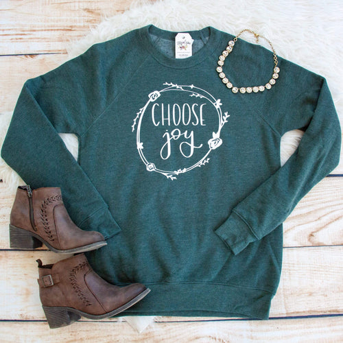 Choose Joy Premium Fleece Pullover