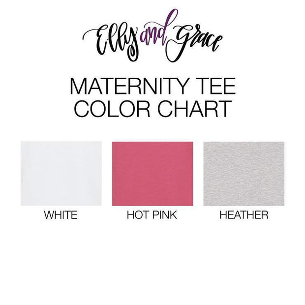 Create Your Own Ladies Maternity Shirt