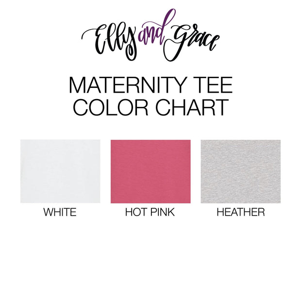 Fearfully and Wonderfully Made Ladies Maternity Shirt