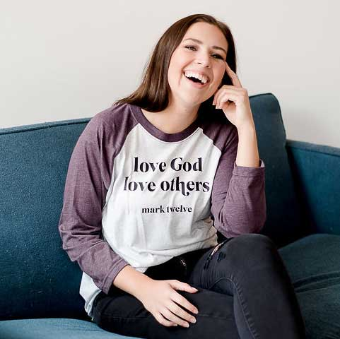 Love God Love Others Raglan