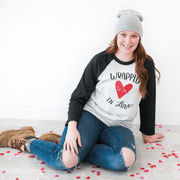 Wrapped in Love Raglan