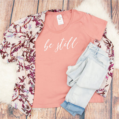 Be Still Curvy Tee