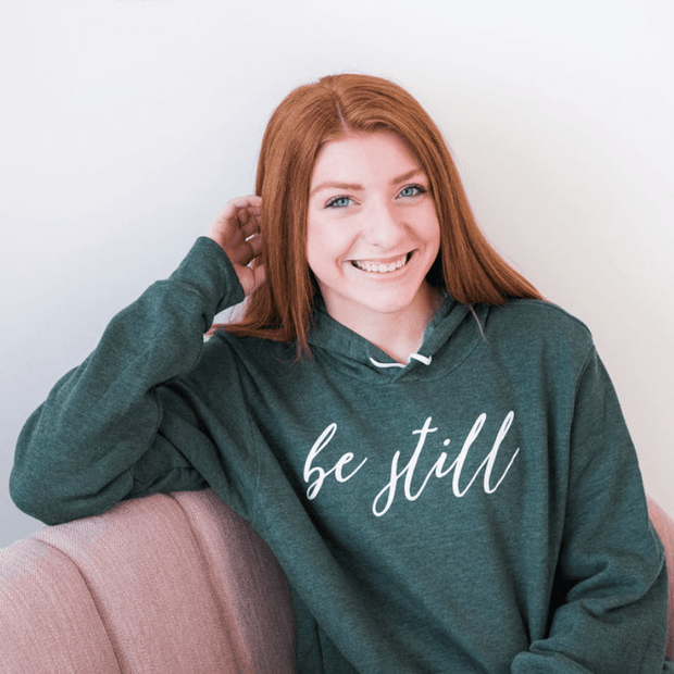 Be Still Premium Fleece Hoodie