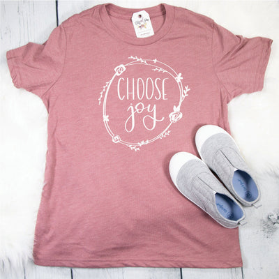 Choose Joy Unisex Youth Shirt