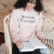 Jesus is Essential Premium Fleece Hoodie