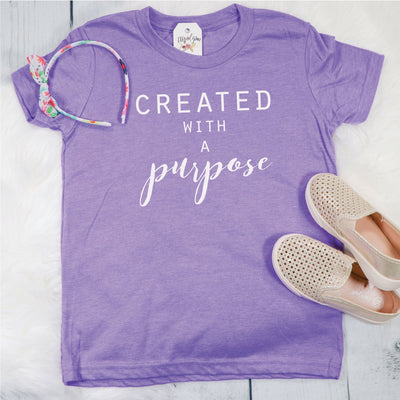 Created with a Purpose Unisex Youth Shirt