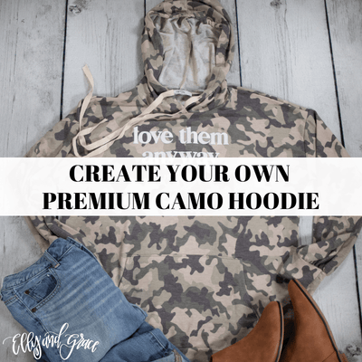 Create Your Own Premium Camo Hoodie