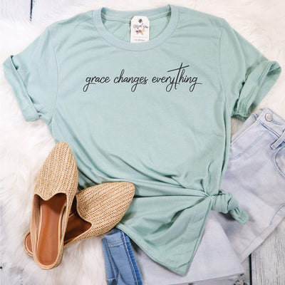 Grace Changes Everything Unisex Shirt