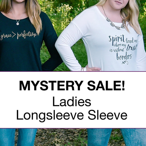 Ladies Longsleeve Surprise Sale Pack - Christian shirt for women